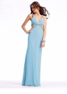 Long Cut Out Prom Dress 1386