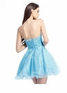 Strapless Short Party Dress 1305