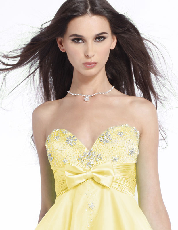 Sweet and Flirty Clarisse Prom Dress 1305