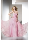 Pink Chiffon B Dazzle by Alyce Prom Dress 35418