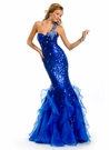 One Shoulder 2013 Mermaid Party Time Gown 6012