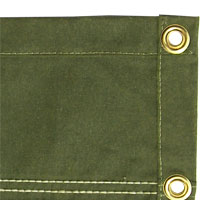 12 oz. Olive Drab Canvas Tarps
