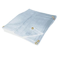 White Mesh Tarps - Tarps Outlet Exclusive
