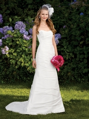 Chic Mermaid Wedding Bridal Dress Alfred Angelo 2034