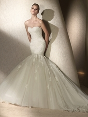 Cheap Mermaid Wedding Dresses Cut Cost, Not Style