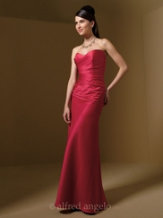 Strapless Sweetheart Bridesmaid Dress Alfred Angelo 7041