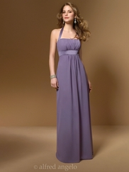 Halter A-Line Bridesmaid Dress Alfred Angelo 7016