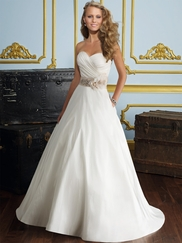 Princess Strapless Informal Wedding Gown Voyage By Mori Lee 6726