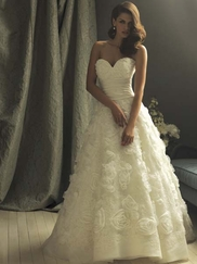 Romantic and Chic Allure Couture Bridal Dress C157