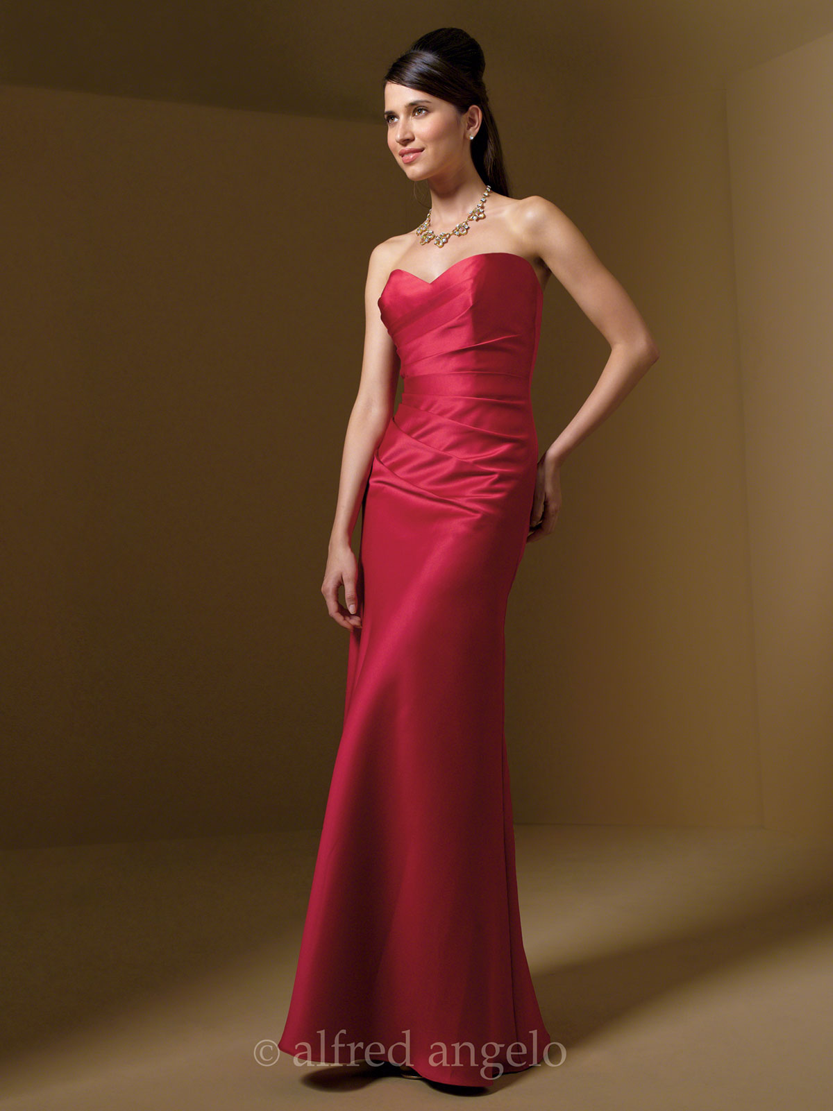 Strapless bridesmaid dress alfred angelo 7041 dimitradesigns strapless sweetheart bridesmaid dress alfred angelo 7041 ombrellifo Image collections