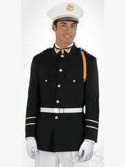 Black Cadet Mix Quinceanera Slim Fit