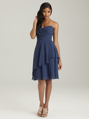 Sweetheart Ruched Allure Bridesmaid Dress 1301