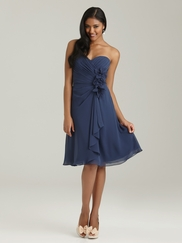 Sweetheart Pleated Allure Bridesmaid Dress 1319