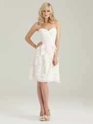 Sweetheart Ruched Allure Bridesmaid Dress 1327