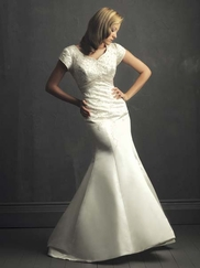 Modest Wedding Gown Allure M434