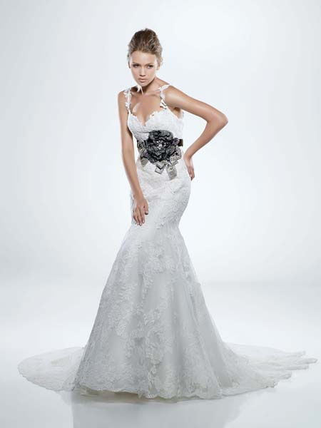 Enzoani Couture Wedding Gown Diana: DimitraDesigns.com