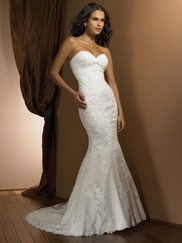 Wedding Bridal Gown Allure Exclusive 2302