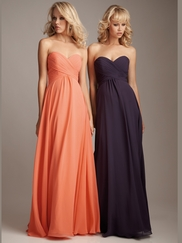 Lavender Allure Bridesmaids Dress 1221
