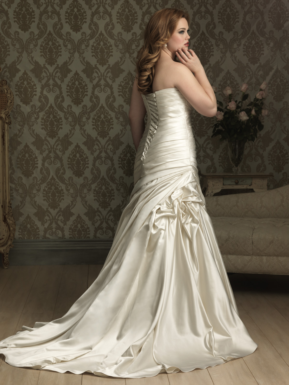 Plus Size Wedding Dress Allure W284 DimitraDesigns