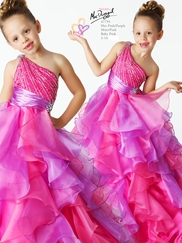 Find Beautiful Little Girls Pageant Dresses at DimitraDesigns.com