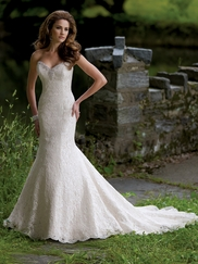 Strapless Mermaid Wedding Gown Bebe David Tutera For Mon Cheri 113200