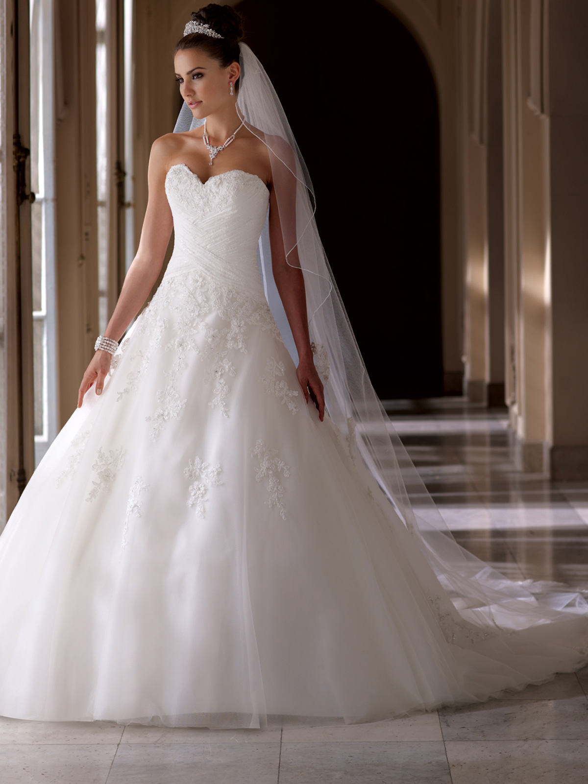 David\'s Bridal Ball Gowns | Dress images