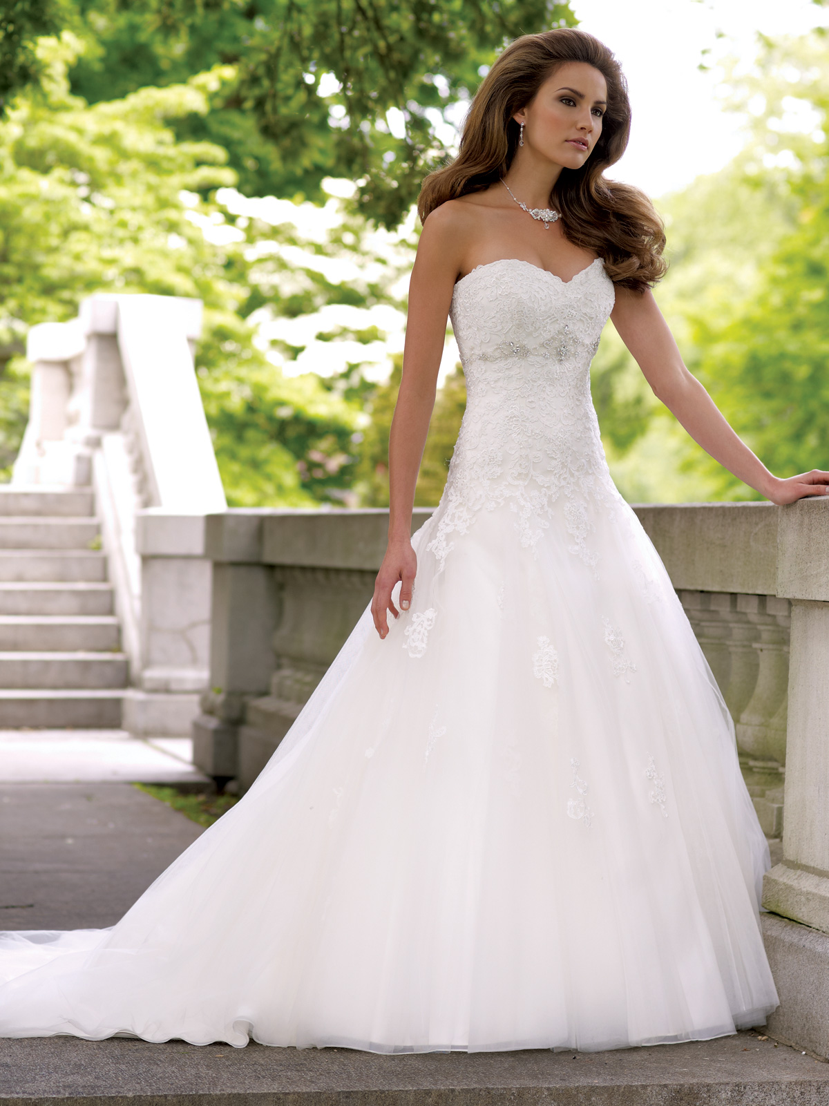 Strapless empire waist wedding dress cocktail dresses 2016 for What to wear under strapless wedding dress