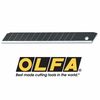 OLFA ABB SNAP-OFF BLACK BLADE (10-PACK)