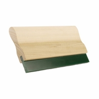 WOOD HANDLE SCREEN PRINT SQUEEGEE