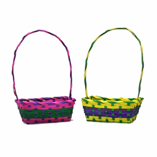 Bamboo Rectangular Easter Baskets