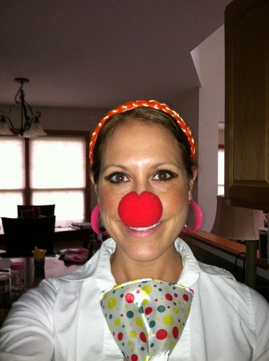 Red Foam Clown Noses
