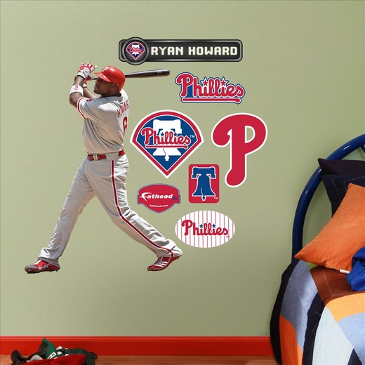Ryan Howard-Fathead Junior