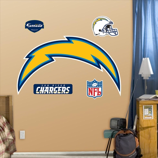 San Diego Chargers Logo-Fathead