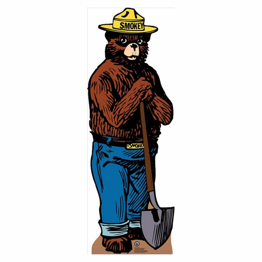 Smokey The Bear Lifesized Standup