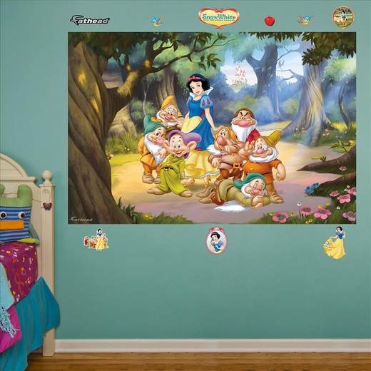 Snow White and the Seven Dwarfs Mural-Fathead