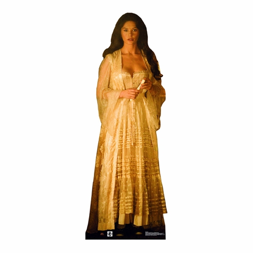Elena In Gown Lifesized Standup