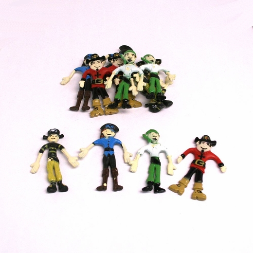 Bendable Pirates