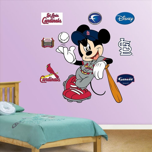 Mickey Mouse Cardinals-Fathead