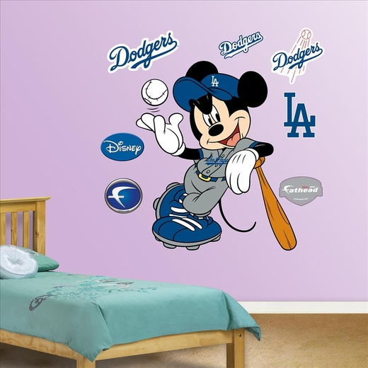 Mickey Mouse Dodgers-Fathead