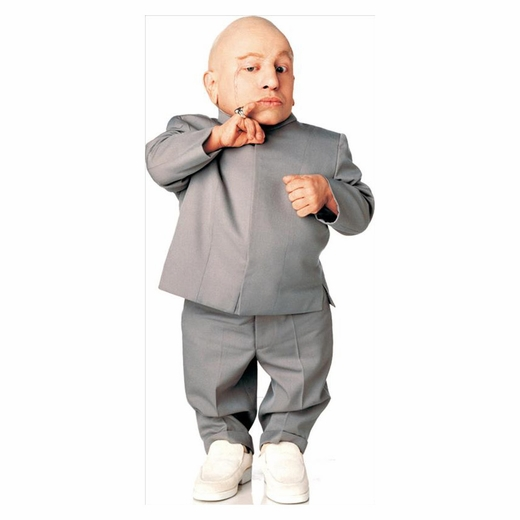 Mini Me Ii-Austin Powers III Lifesized Standup