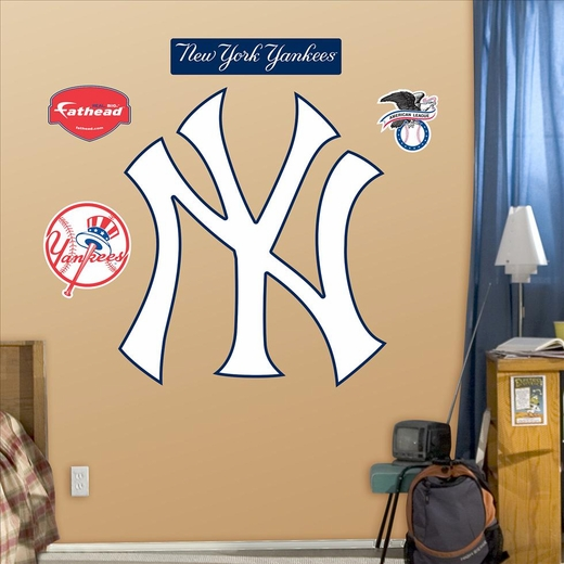 New York Yankees NY Logo-Fathead