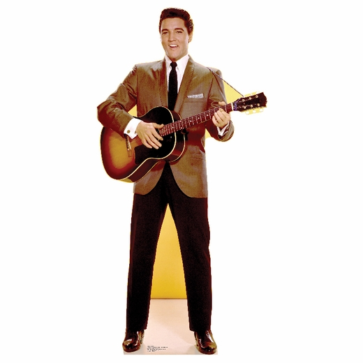 Elvis Sportscoat Guitar Lifesized Standup