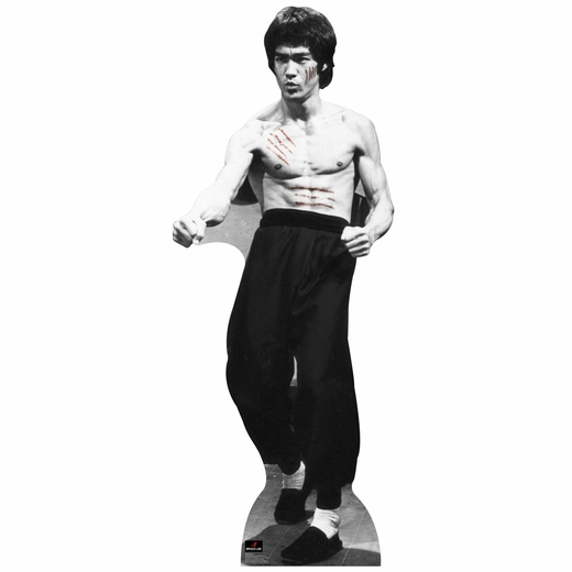 Bruce Lee-Cut Lifesized Standup