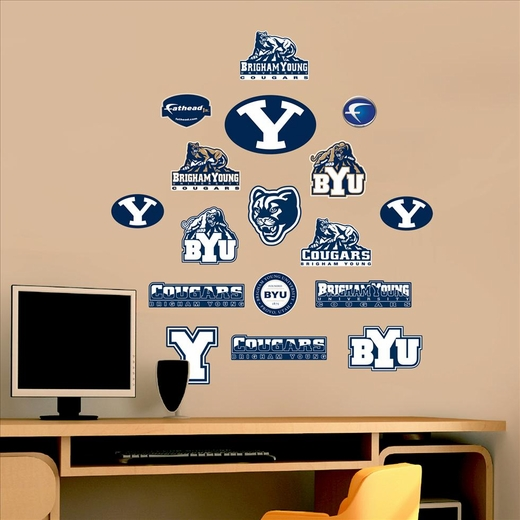 BYU �Logosheet �-Team Logo Assortment