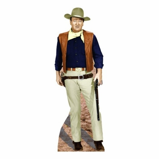 John Wayne Vest Lifesized Standup