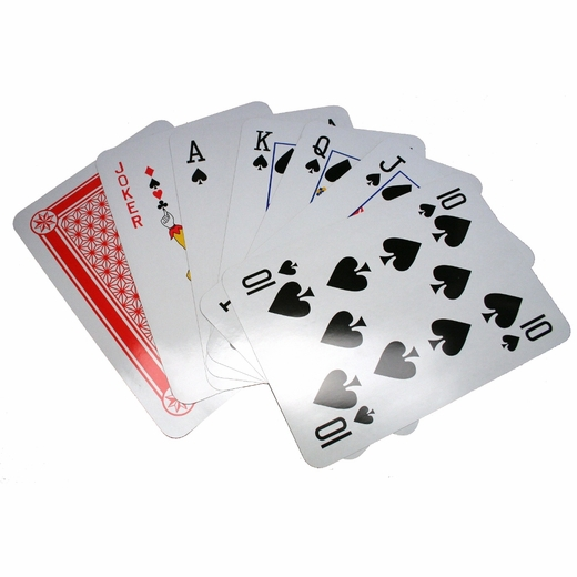"14 1/2"" Jumbo Playing Cards"