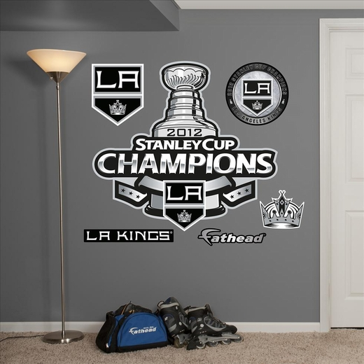 Los Angeles Kings 2012 Stanley Cup Logo Fathead