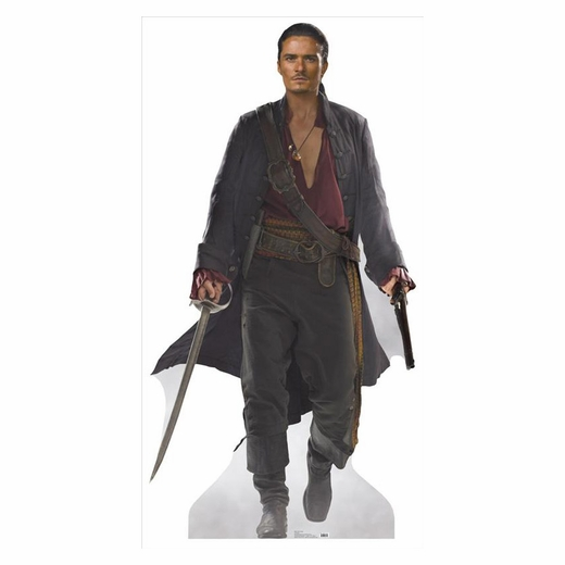Will Turner Lifesized Standup