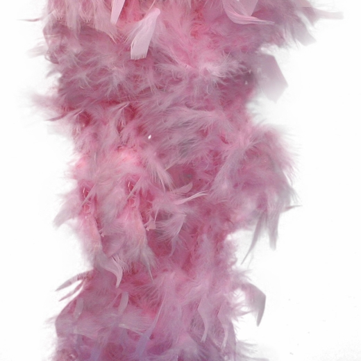 Pink Feather Boa (6', 60 grams)