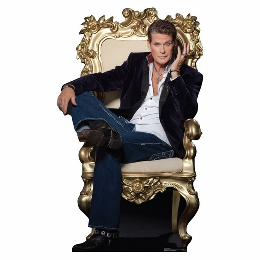 David Hasselhoff Lifesized Standup